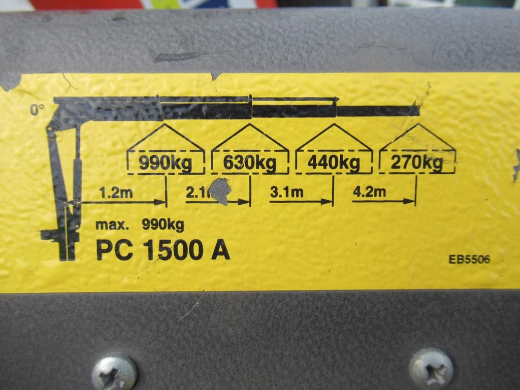 Iveco Daily 50C14D 3.0 CNG EURO5 EEV Palfinger Kraan - Kran 12