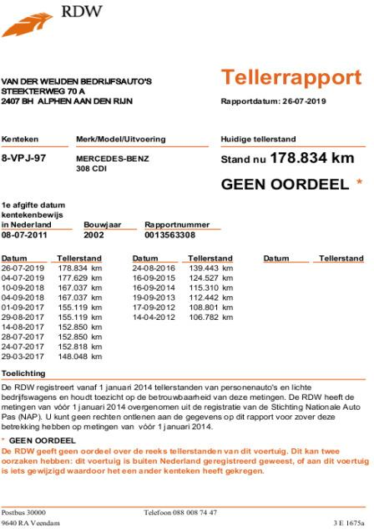 Mercedes-Benz Sprinter 308 CDI 2.2 300 NUYTS Paardenauto Automaat 8
