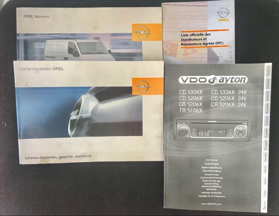 Opel Movano Barbot Polyvan D5 Paardenauto 80.324 KM.!!! 146 PK 10