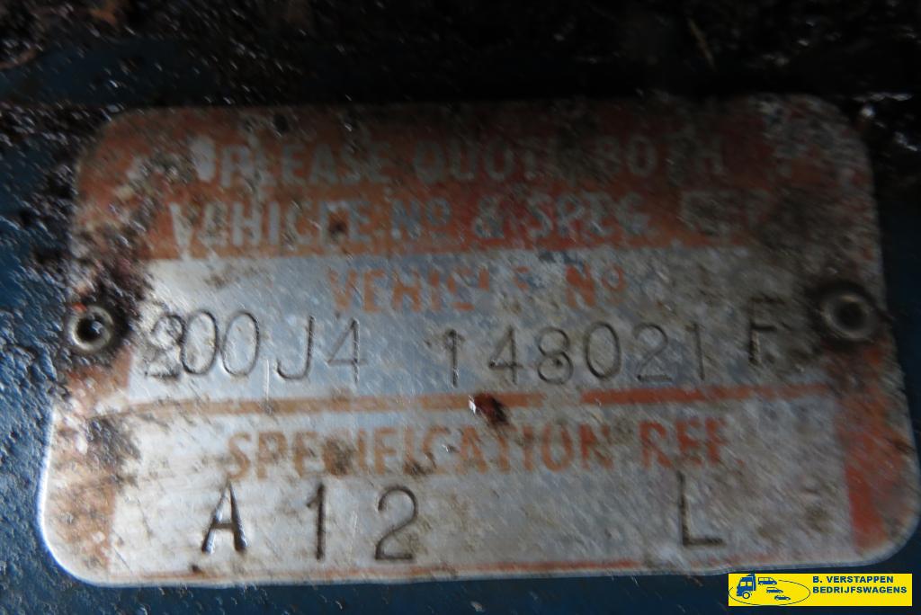 Overige merken 200J4 VAN 200J4 VAN 20