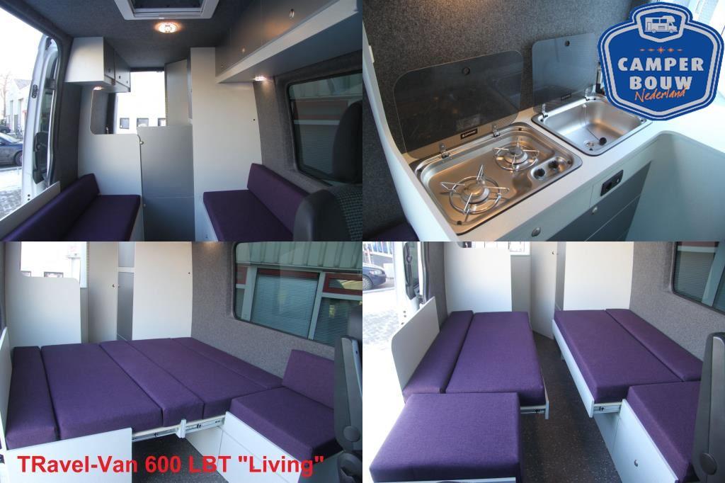 Overige merken TRavel-Van M600 BKD Buscamper L2H2 599cm 15
