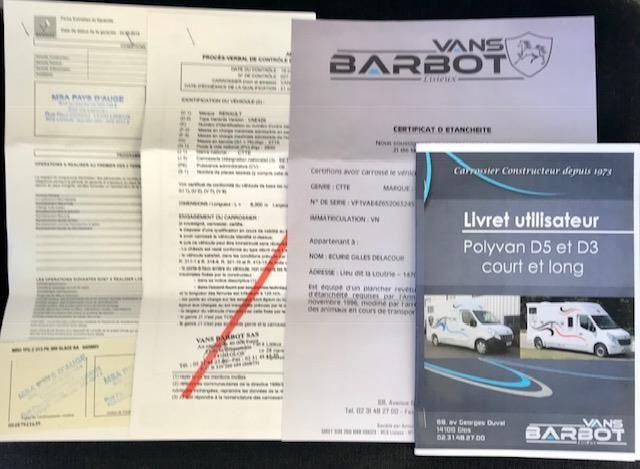 Renault Master BARBOT Paardenauto Dub.Cab. 163 PK!! 18