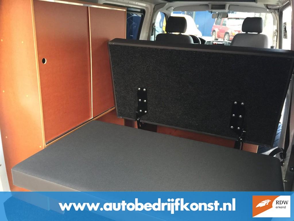 Volkswagen Transporter 2.0 TDI L1H1 VW T 5 BUSCAMPER UITVOERING AIRCO CRUISE GROOT PLAT HEFDAK CAMPERKENTEKEN RDW KEURING EXCL BTW 12