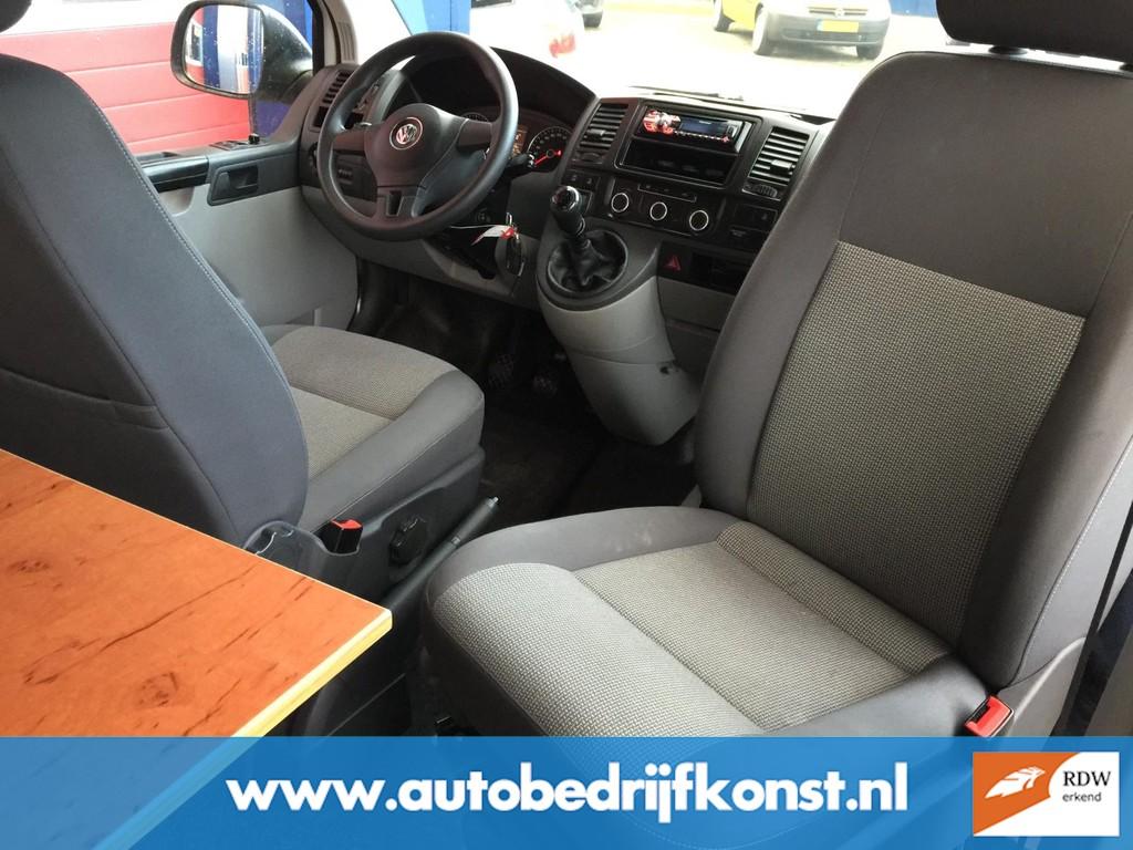 Volkswagen Transporter 2.0 TDI L1H1 VW T 5 BUSCAMPER UITVOERING AIRCO CRUISE GROOT PLAT HEFDAK CAMPERKENTEKEN RDW KEURING EXCL BTW 7