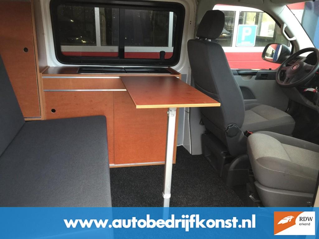 Volkswagen Transporter 2.0 TDI L1H1 VW T 5 BUSCAMPER UITVOERING AIRCO CRUISE GROOT PLAT HEFDAK CAMPERKENTEKEN RDW KEURING EXCL BTW 9
