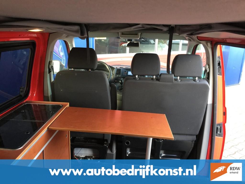 Volkswagen Transporter 300 T800 BUSCAMPER NW MODEL AIRCO CRUISE ELECTR RAMEN CENTRALE VERGRENDELING NW APK OH BEURT GROOT HEFDAK 21