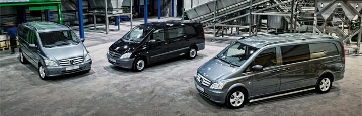 18 Mei 2011. Mercedes-Benz levert zeven dubbele cabines voor bedrijfswagens. Bedrijfswagen nieuws!