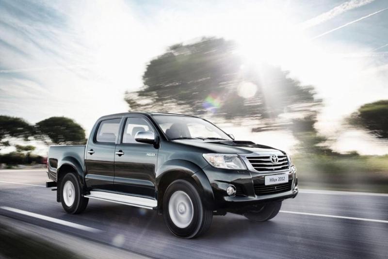 19 Juli 2011. Facelift voor de Toyota Hilux.