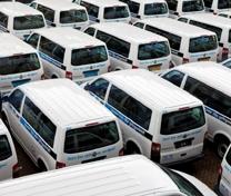 16 augustus 2011. RMC kiest voor schoon leerlingenvervoer met VW Transporter op aardgas