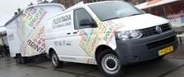 3 Januari 2013. Volkswagen duurzame Transporter op aardgas voor natuur & Milieu