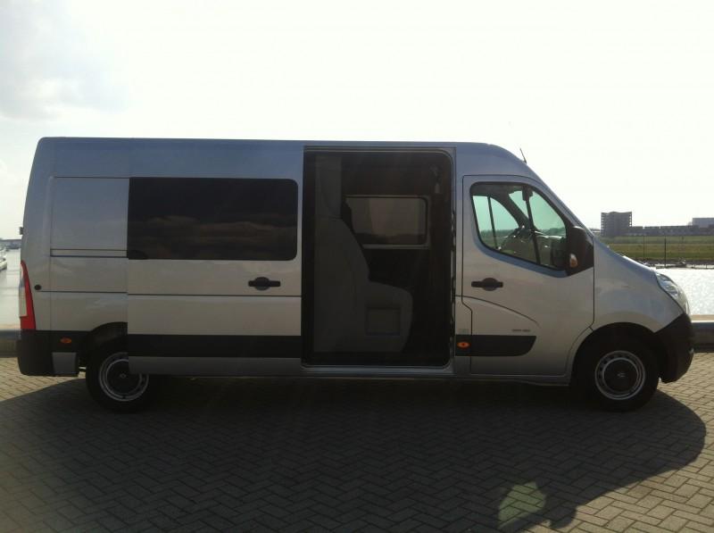 Getest Opel Movano L3H2 2.3 CDTI 150 Dubbel Cabine