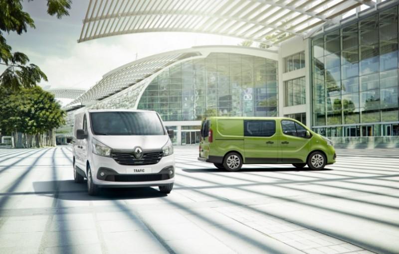 Nieuw model Renault Trafic, bekijk de foto's. 10 April 2014