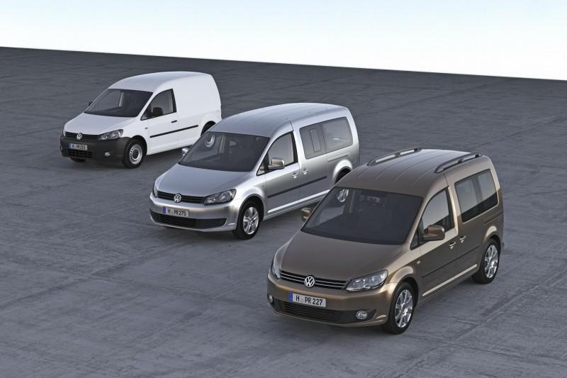15 Februari 2012. Leverbaar: complete Volkswagen Caddy GO!