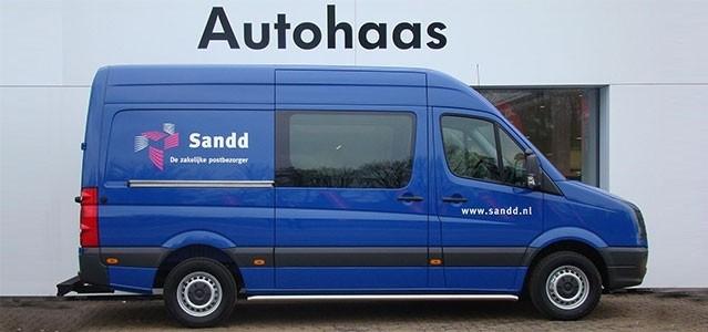 Grote opdracht, 169 Volkswagen Crafter voor Sandd. 30 Januari 2013.
