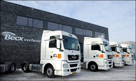 MAN en JCL logistics: een eenheid in Europa. 25 Januari 2013.