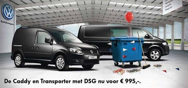 Volkswagen bedrijfswagens houdt het zakelijk! 22 Januari 2013.