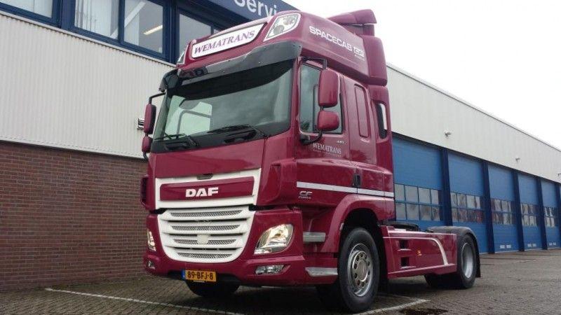 Nieuwe DAF CF afgeleverd door bedrijfswagendealer BLOM-DSW
