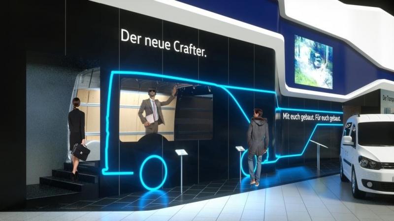 Nieuwe Volkswagen Crafter Bedrijfswagen via Virtual Reality bekijken