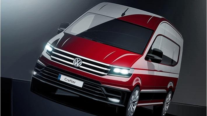 Nieuwe Volkswagen Crafter 2016 eerste beelden