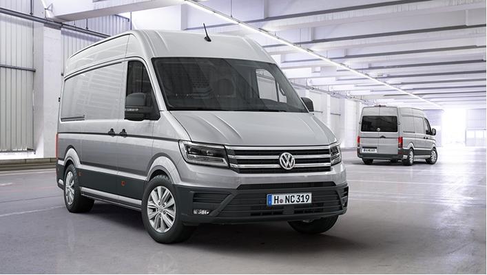 Volkswagen Crafter: praktischer, efficiënter en innovatiever dan ooit