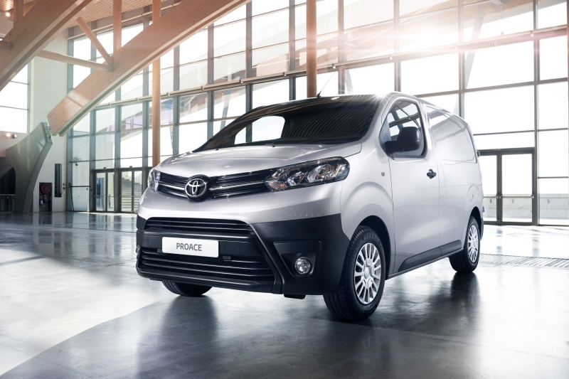 Toyota PROACE , Nieuwe bedrijfswagen van Toyota