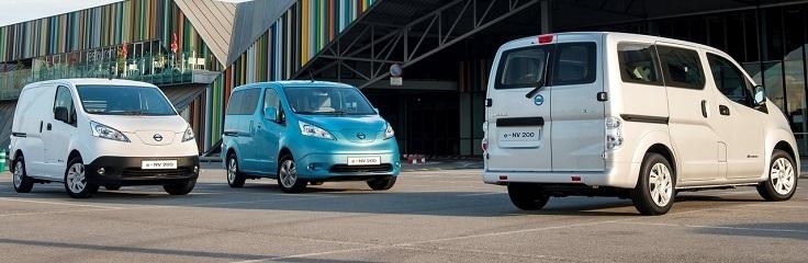 Nissan introduceert vijf jaar garantie voor elektrische e-NV200