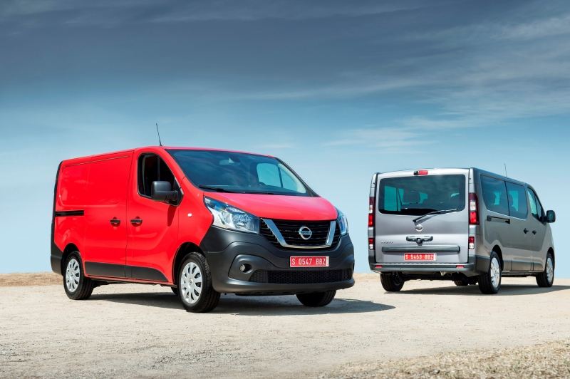 Nieuwe Nissan NV300 voor het eerst te zien in Hannover