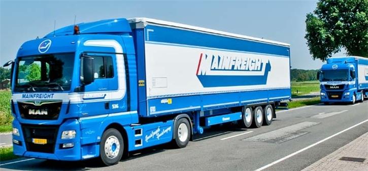 Nieuwe Man Trucks voor Mainfreight