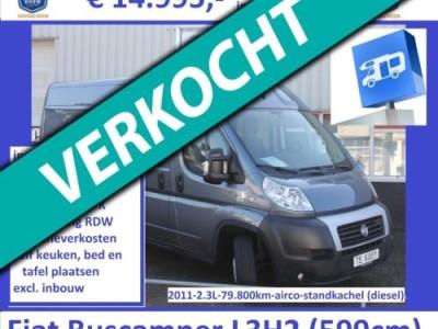 Fiat 2011 L3H2 79.800km !!! Standkachel airco