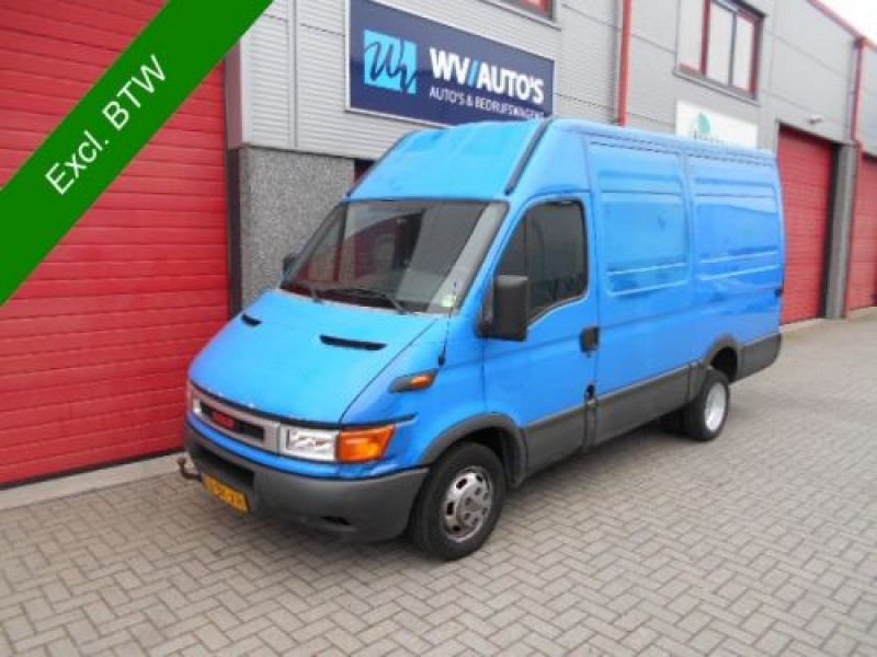 Iveco Daily 35 C 13V 330 H2 dubbellucht 3 zits