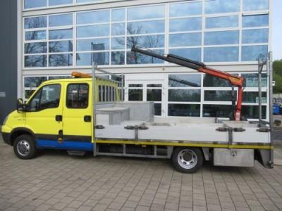 Iveco Daily 50C14D 3.0 CNG EURO5 EEV Palfinger Kraan - Kran
