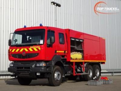 Overige merken 6x4 Kerax 380.32 DXI 6x4 Unused! Feuerwehr, Fire - 8.000 water-1.000 Foam-Doppelcabine, Crewcab-Rescue, Airport