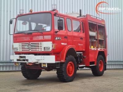 Overige merken M180 Midliner 4x4 -Feuerwehr, Fire brigade - 1.200 ltr watertank - Expeditie, Camper