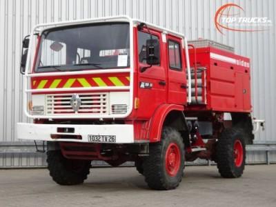 Overige merken M180 Midliner 4x4 Doppelcabine - 4.400 ltr watertank - Feuerwehr, Fire brigade, Expeditie, Camper