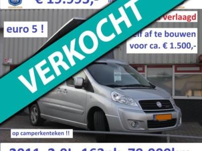 Overige merken Scudo 2.0L - 165pk - EURO5 - Reimo slaaphefdak