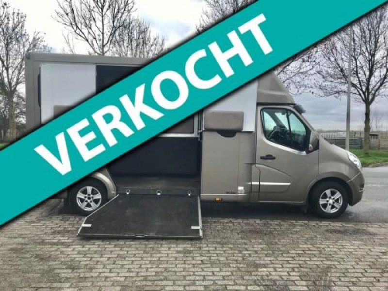 Renault Master 2.3D THEAULT Paardenauto Marge/Prive