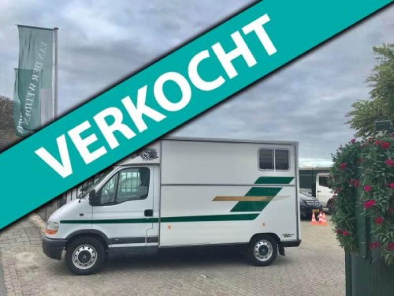 Renault Master 2.8dTi Barbot Paardenauto 114 PK! Marge/Prive