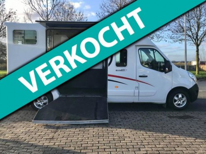 Renault Master T35 2.3 dCi L3 BARBOT PAARDENAUTO MARGE/PRIVE