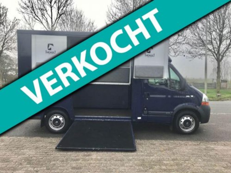 Renault Master Theault Paardenauto 33.898 km.!!! MARGE/PRIVE