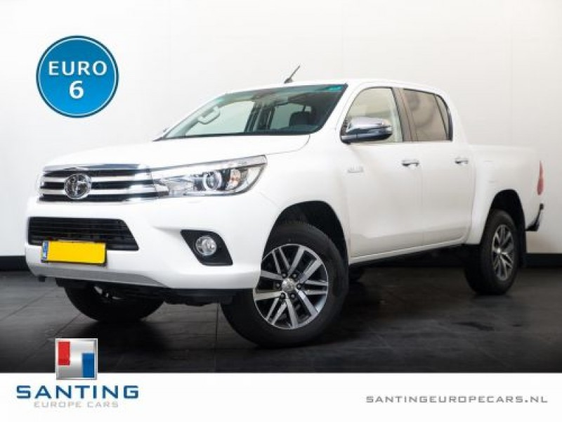 Toyota Hilux 2.4 D-4D 150pk 4WD Double Cabine GB Executive 2pers